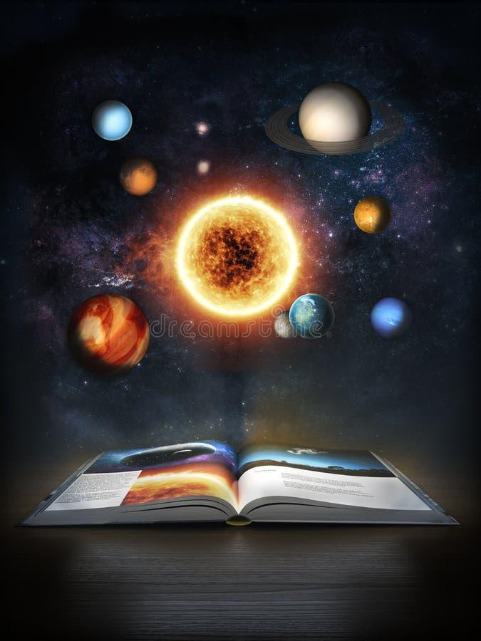 Descubrimiento de ciencia ilustración del vector