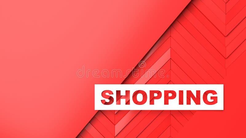 Descuentos y ventas para las tiendas y las mercancías libre illustration