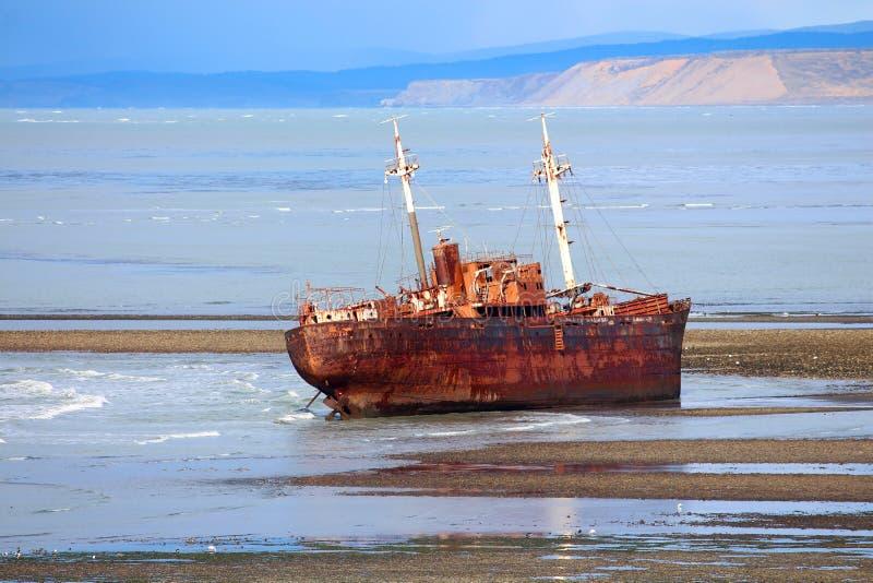 Desdemona ship wreck stock photo