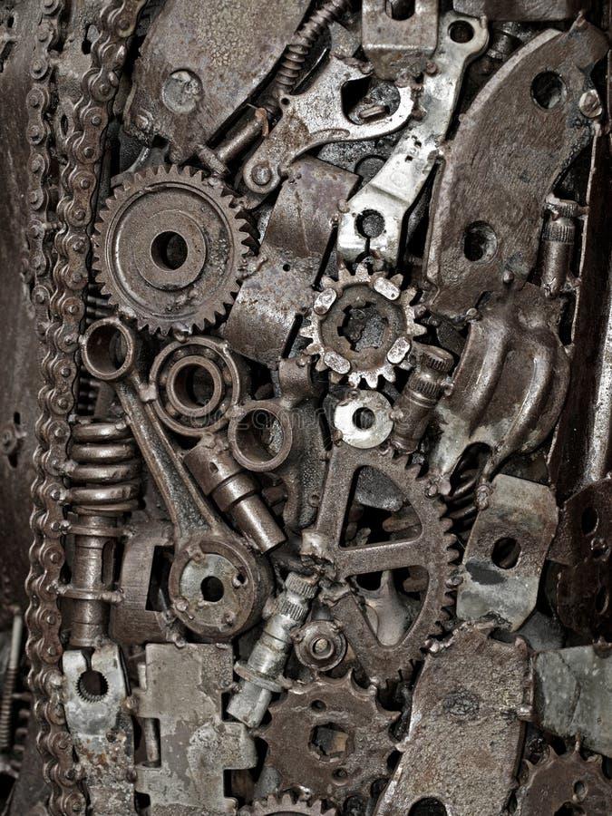 Desecho de Mecanic imagenes de archivo
