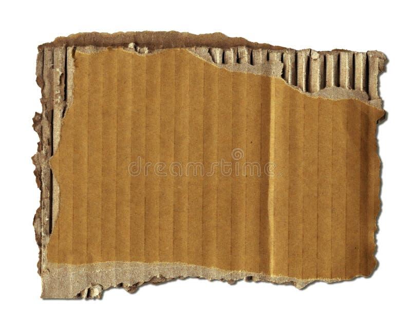 Desecho viejo de la cartulina imagen de archivo