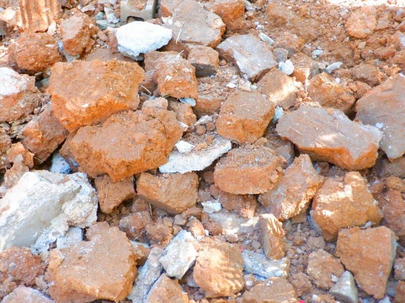 Desechos de construcción sobrantes foto de archivo libre de regalías