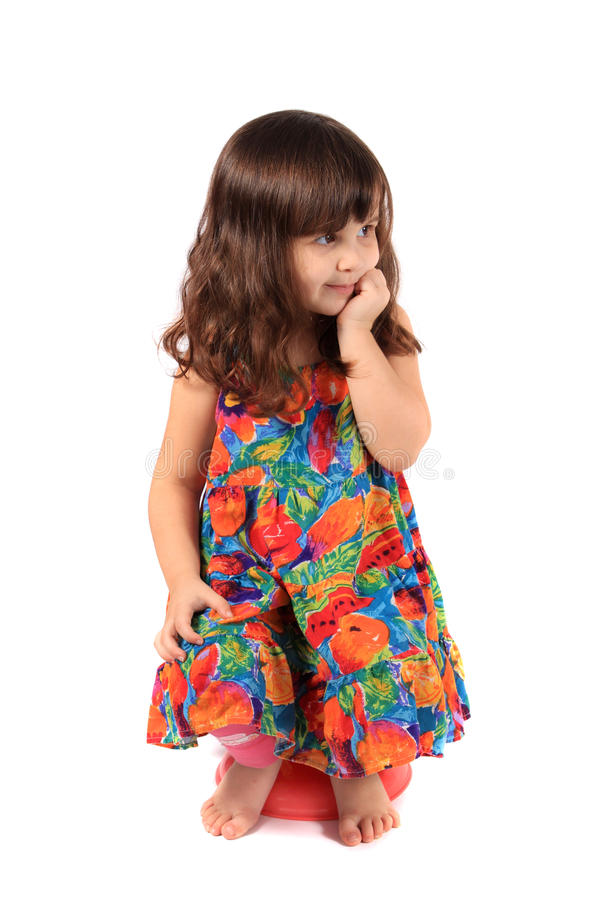 Desejo da menina imagens de stock