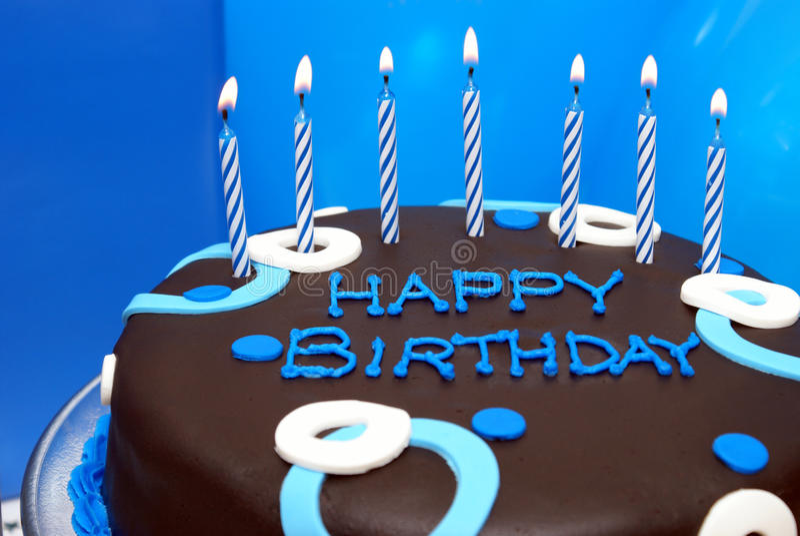Desejo do aniversário foto de stock