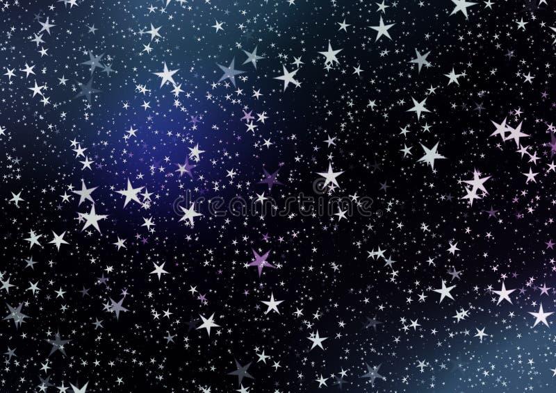 Desejos do Natal, estrelas, fundo fotos de stock royalty free