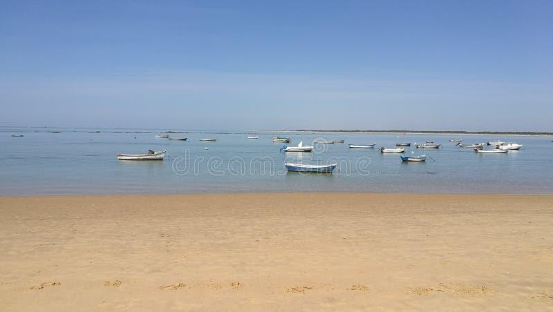 Desembocadura del rÃo le Guadalquivir Sanlúcar image libre de droits