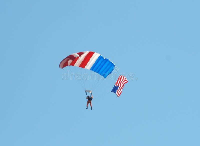Desempenho de Airshow foto de stock