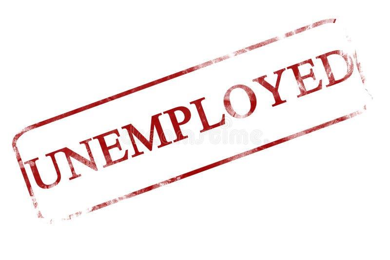 Desempregados ilustração stock