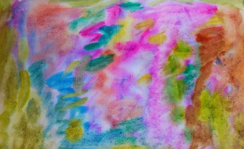 Desenfoque de color abstracto imágenes de archivo libres de regalías