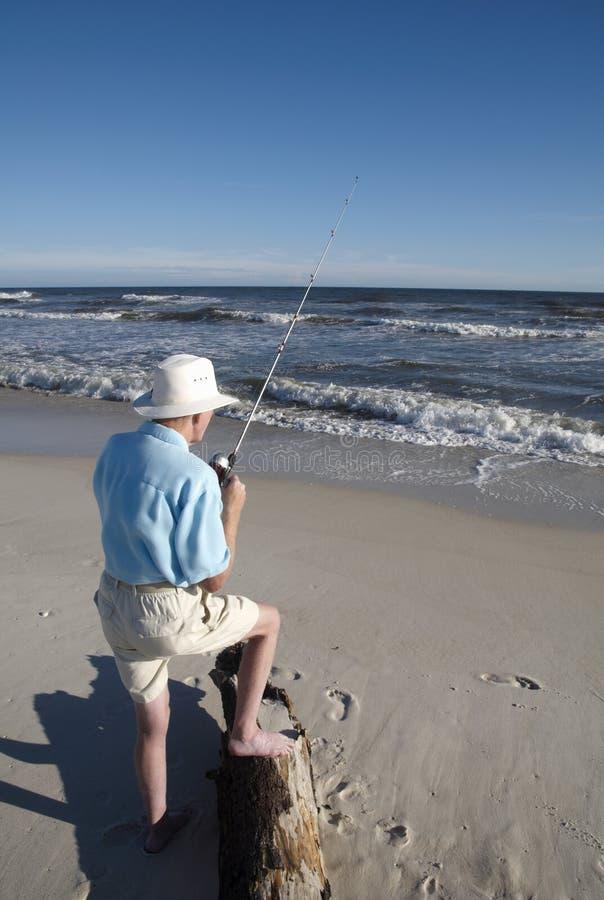 Desengate de pesca imagem de stock