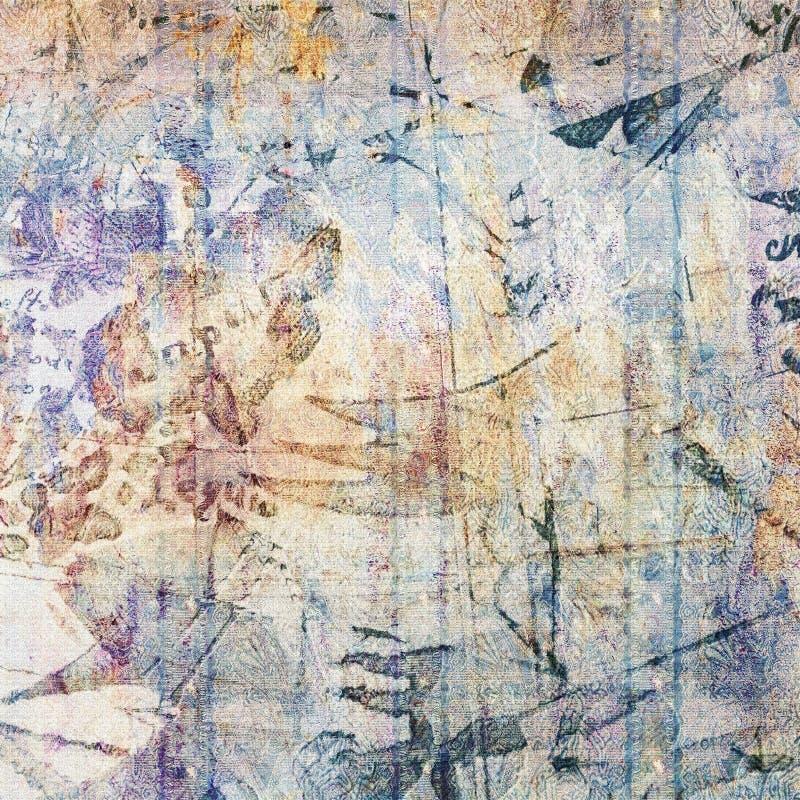 Desengate no mundo antigo ilustração royalty free