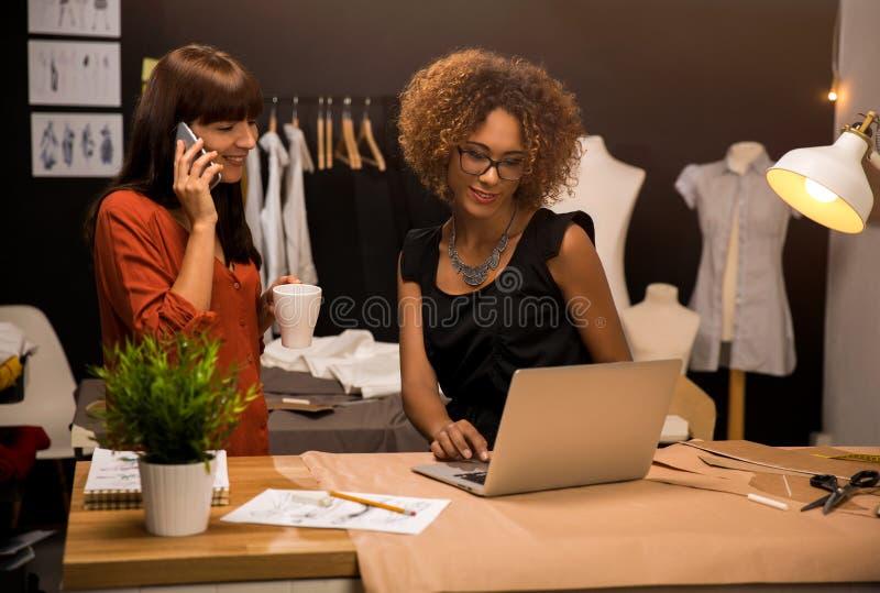Desenhadores de moda imagem de stock royalty free