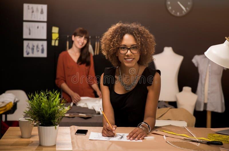 Desenhadores de moda foto de stock royalty free