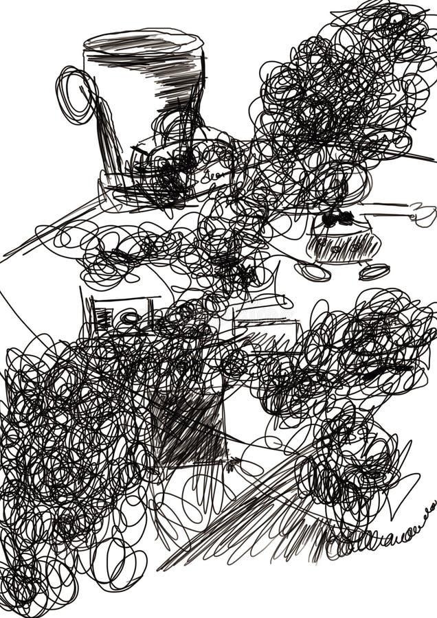 Desenho ilustração royalty free