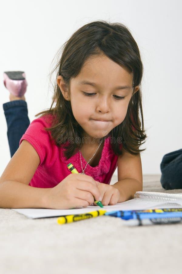 Desenho da criança imagens de stock royalty free