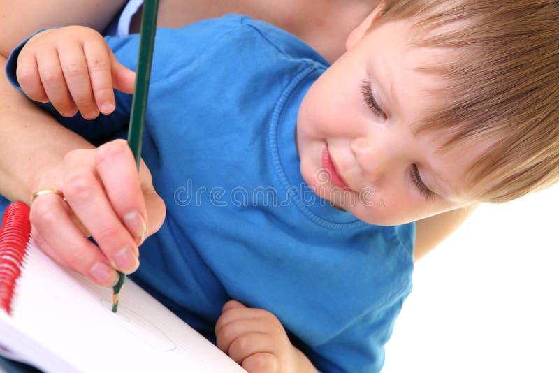 Download Desenho Da Matriz E Do Filho Imagem de Stock - Imagem de mama, amar: 10050875