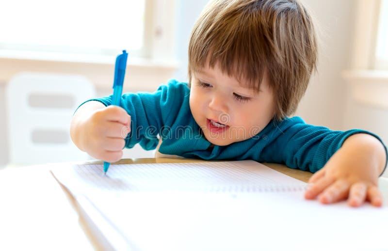 Desenho do menino da crian?a imagem de stock royalty free