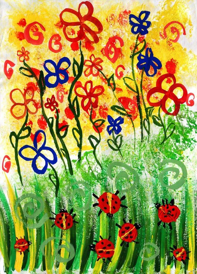 Download Desenho Do Verão Da Criança Ilustração Stock - Ilustração de fundos, igualdade: 10067738