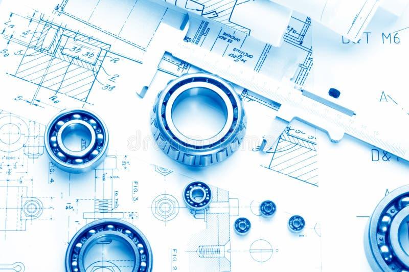 Desenho mecânico imagens de stock royalty free
