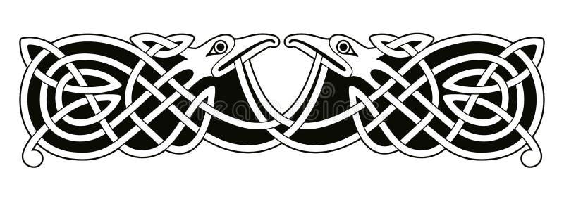 Desenho nacional celta ilustração royalty free
