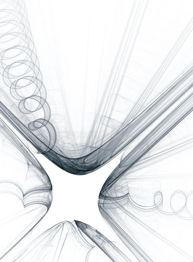 Desenho Preto E Branco Da Explosao Poderosa Do Flash Ilustracao