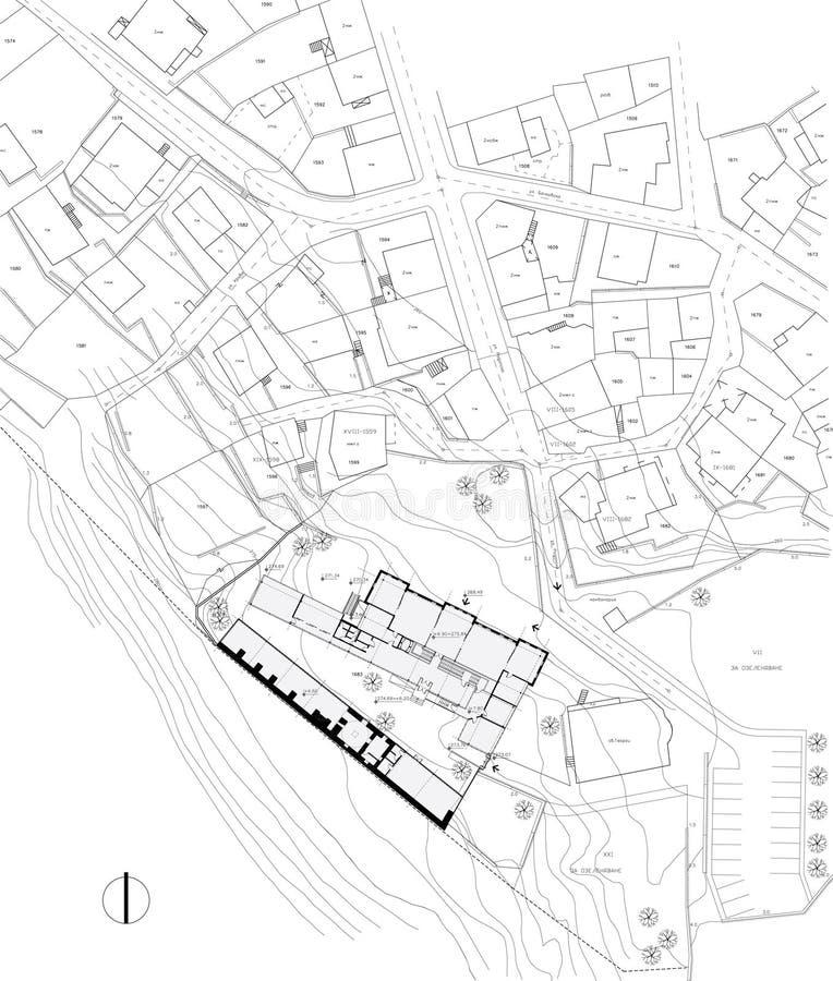 Desenho urbano do plano