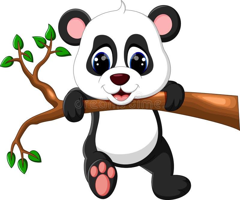 Excepcional Desenhos Animados Bonitos Da Panda Do Bebê Ilustração do Vetor  HN51