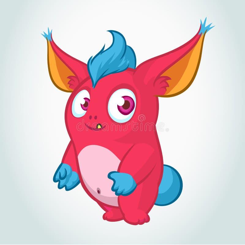 Desenhos animados bonitos do monstro Ilustração do vetor ilustração do vetor