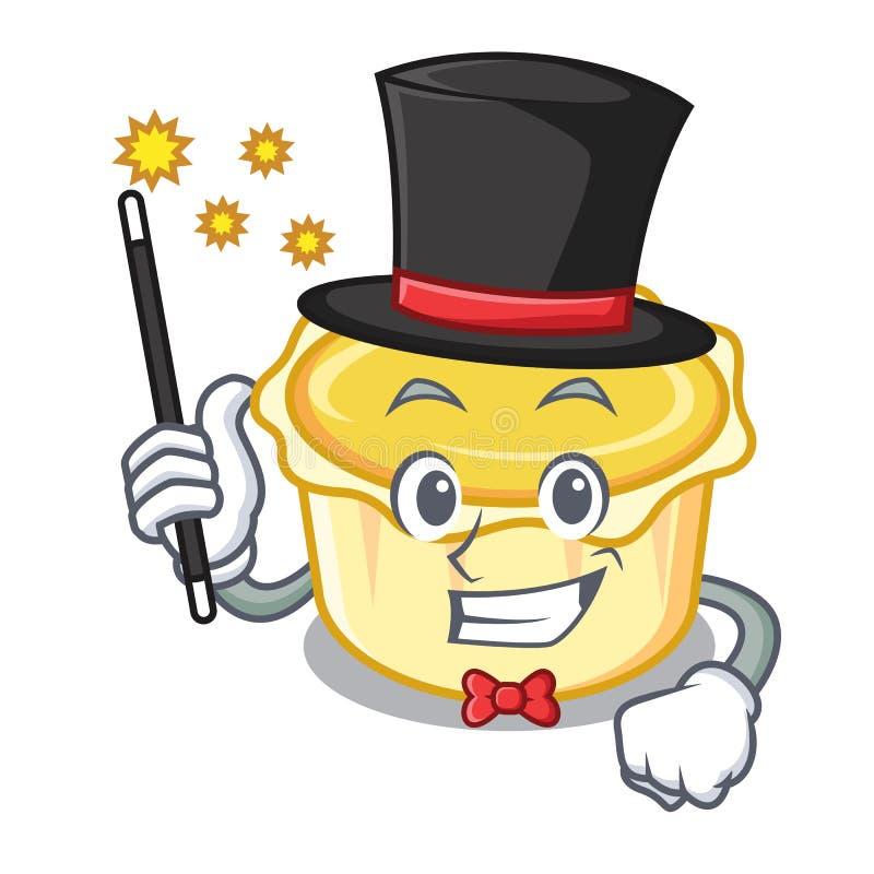 Desenhos animados da mascote da galdéria do ovo do mágico ilustração stock
