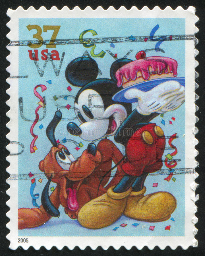 Desenhos animados de Disney imagem de stock royalty free