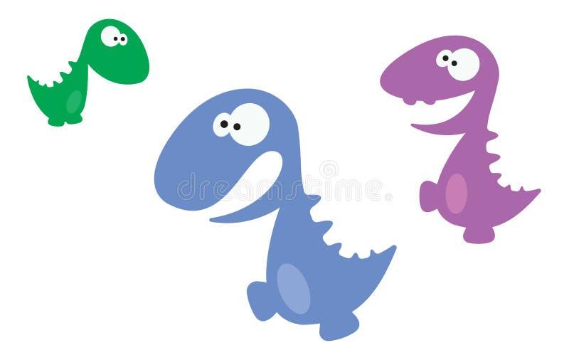 Desenhos animados Dino foto de stock royalty free