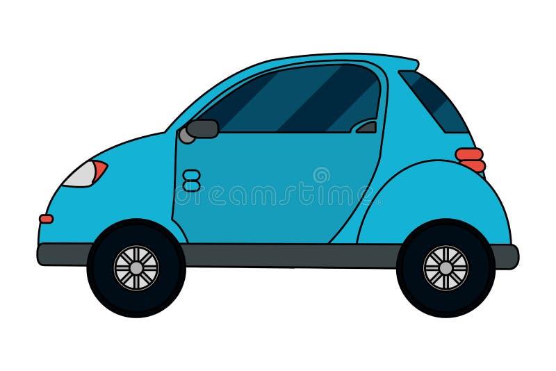 Desenhos animados do conceito do transporte