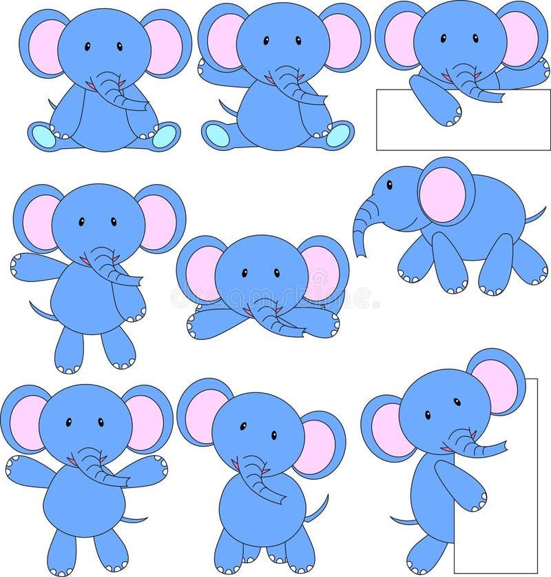 Download Desenhos Animados Do Elefante Ilustração Stock - Ilustração de ilustração, coleção: 26504234