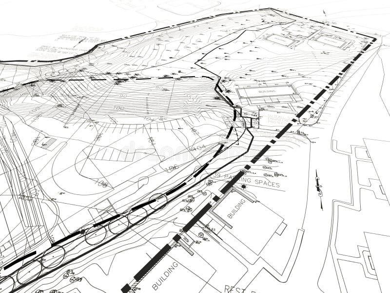 Desenhos de construção