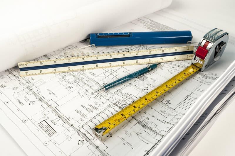 Desenhos de construção imagens de stock royalty free