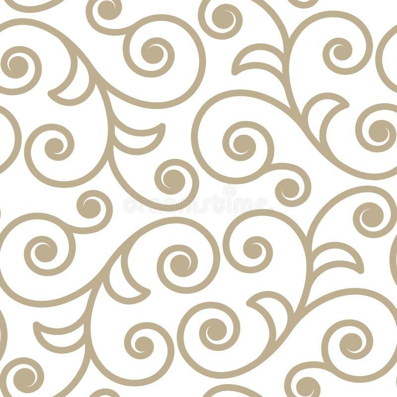 Deseniowa ślimacznica royalty ilustracja
