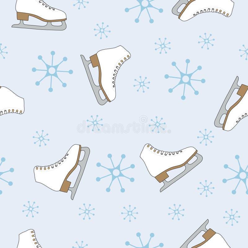 deseniowa bezszwowa zima ilustracja wektor