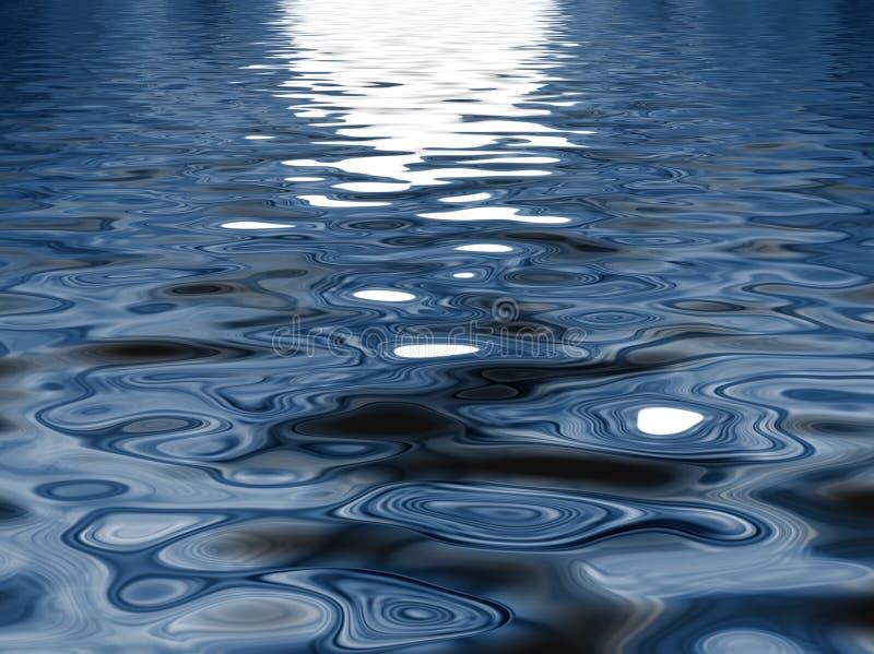deseniowa woda royalty ilustracja