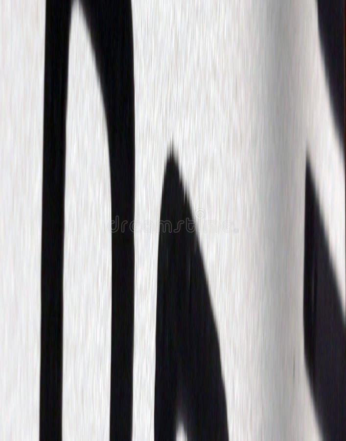 deseniowa zebra ilustracja wektor