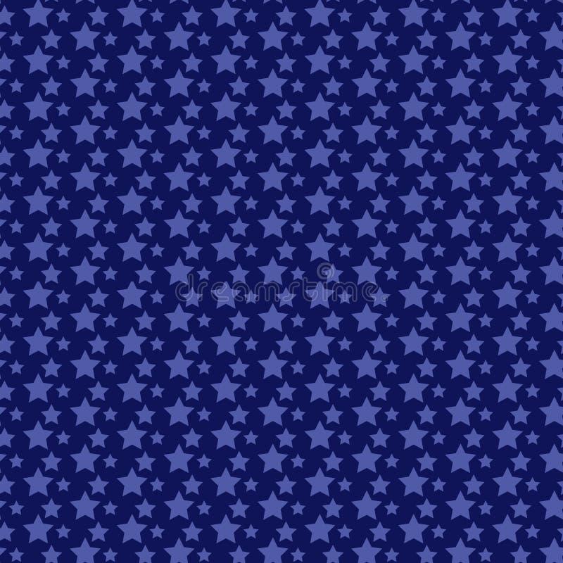 deseniowe bezszwowe gwiazdy ilustracja wektor