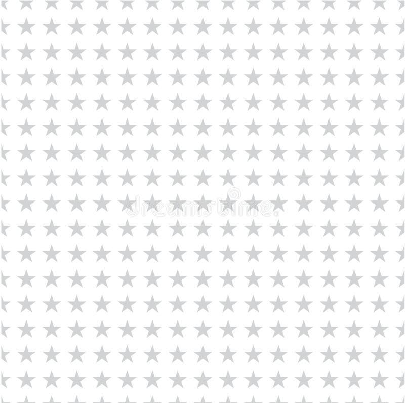 deseniowe bezszwowe gwiazdy wiele gwiazd niebieskich royalty ilustracja