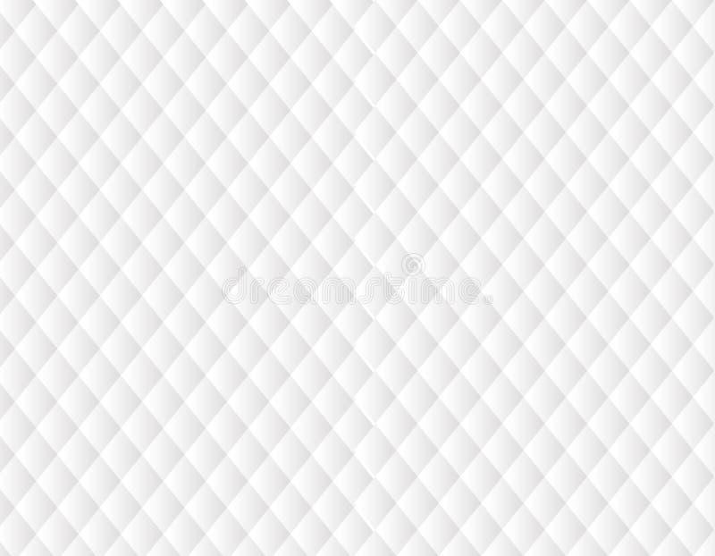 Deseniowej tło tekstury Geometryczny biel zdjęcie royalty free