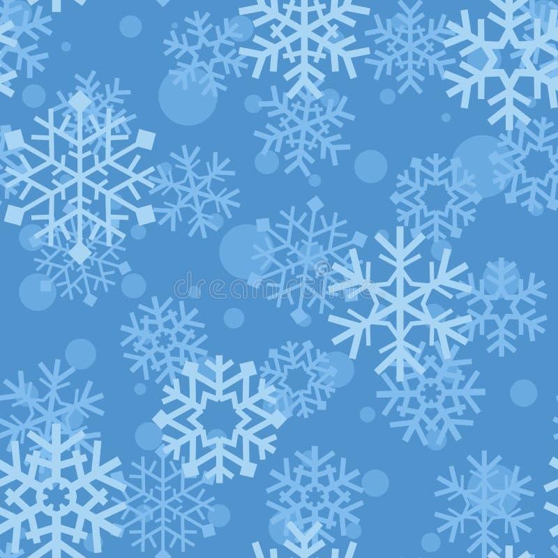 deseniowi płatek śniegu ilustracja wektor