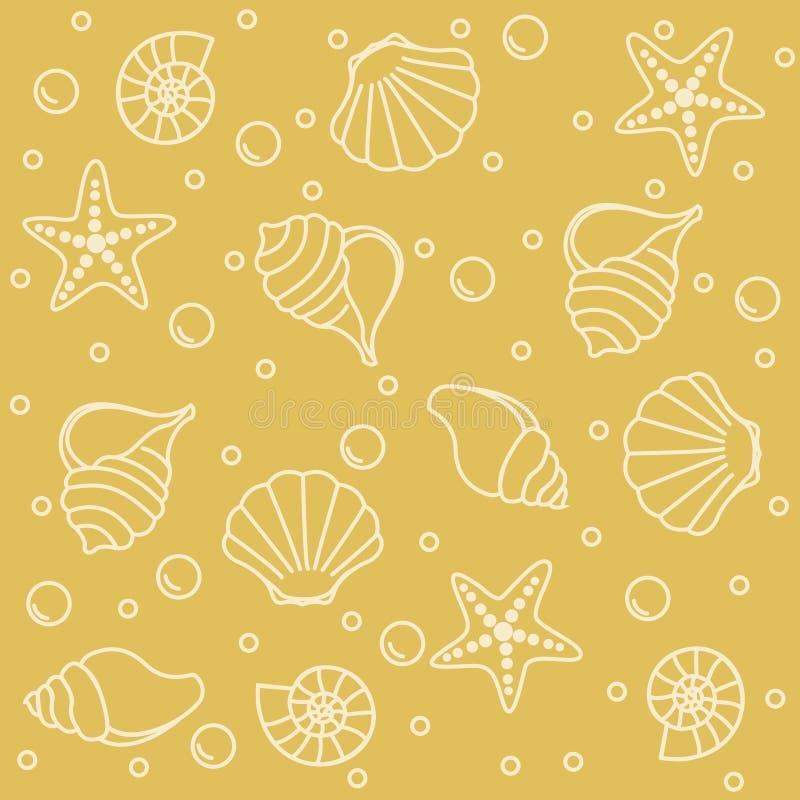 deseniowy życia morze ilustracji
