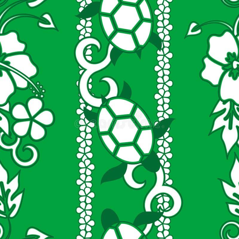 deseniowy bezszwowy żółw royalty ilustracja