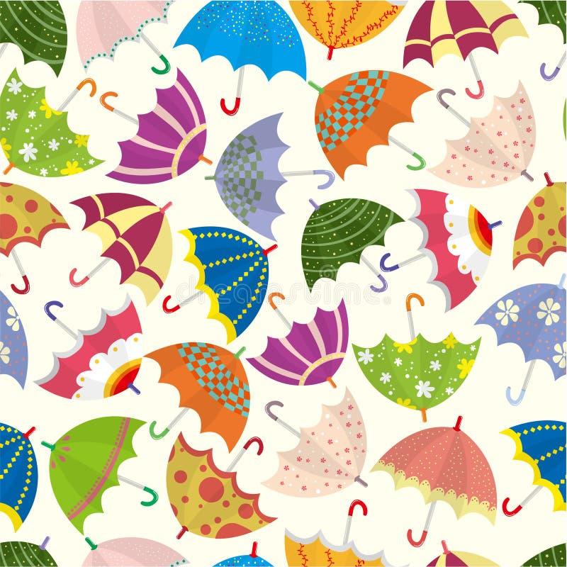 deseniowy bezszwowy parasol