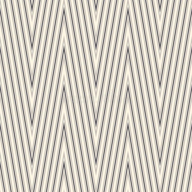 deseniowy bezszwowy zygzag Szewron tapeta ilustracji