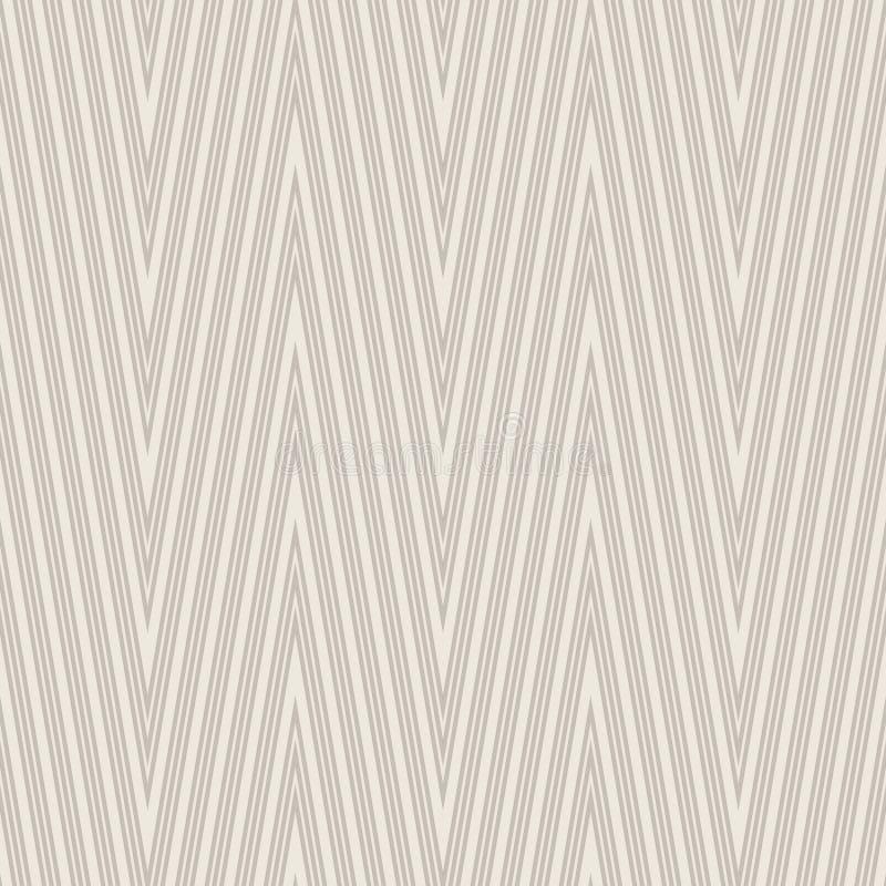 deseniowy bezszwowy zygzag Szewron tapeta ilustracja wektor