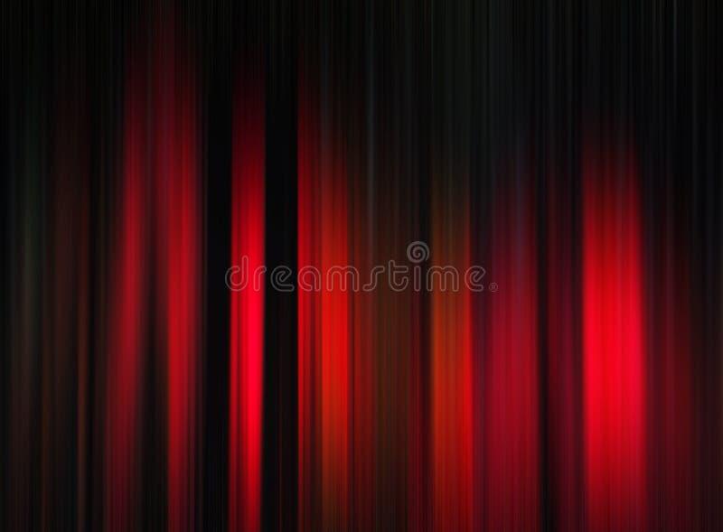 deseniowy czerwony lampas ilustracji