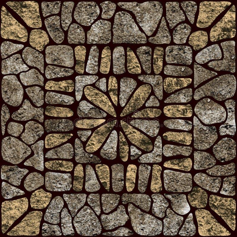 deseniowy kamień ilustracji